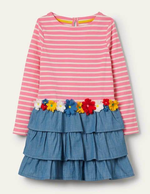 Appliqué Hotchpotch Dress