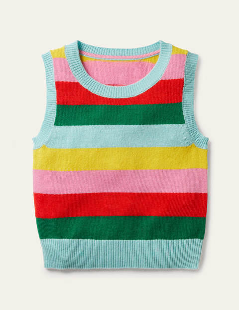 Knitted Stripe Tank Top