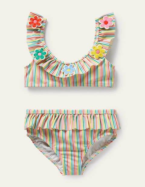 Frill Bikini Set