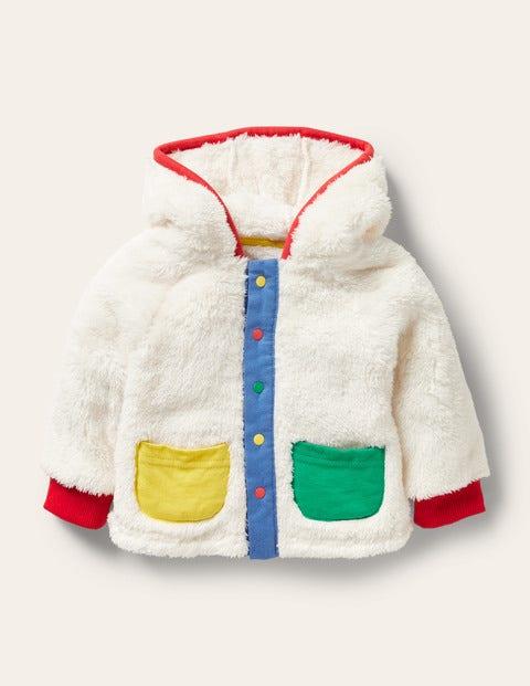 Hooded Soft Borg Jacket