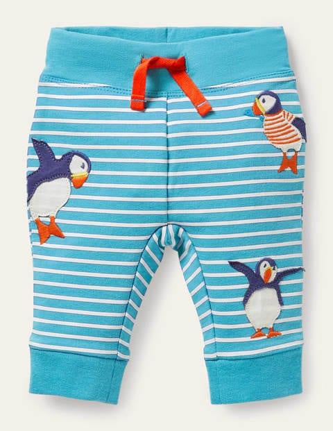 Appliqué Jersey Trousers