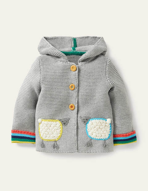 Applique Knitted Jacket