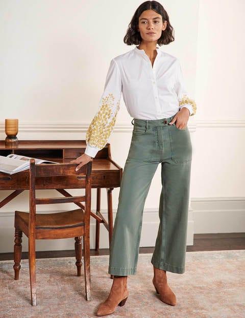 Hose aus Baumwolltwill