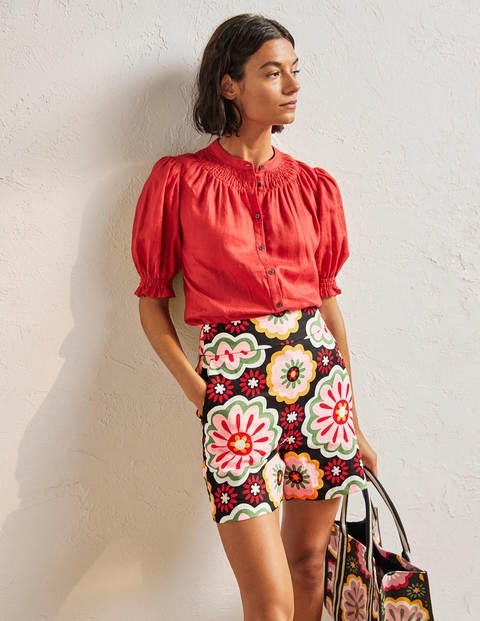 Georgina Linen Shorts