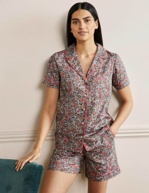 Short Sleeve Pyjama Shirt