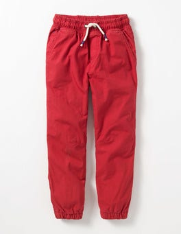 Johnnie Red Lined Canvas Pull-ons
