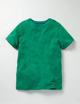 Timber Green Slub Washed T-shirt