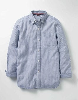 Howlin Blue Stripe Oxford Shirt