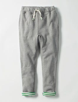 Grey Marl Slouch Sweatpants