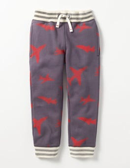 London Grey Jets Printed Joggers