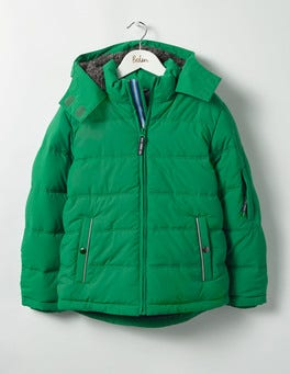 Crocodile Green Padded Jacket