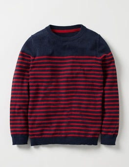 Stripy Crew Jumper
