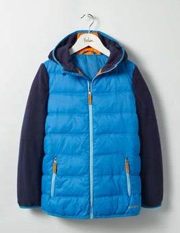 Swedish Blue Sports Zip-up Jacket