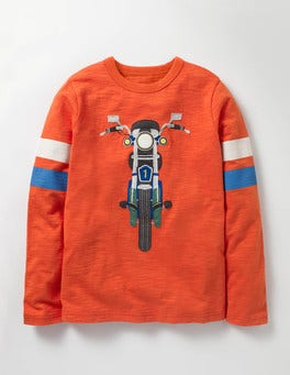 Ziggy Red Bike Sporty Vehicle T-shirt