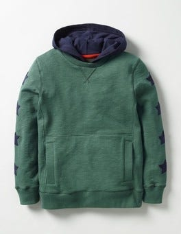 Prickly Green Sporty Hoodie