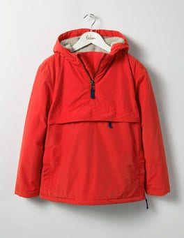 Beatnik Red Popover Jacket