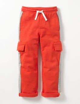 Ziggy Red Jersey Cargos