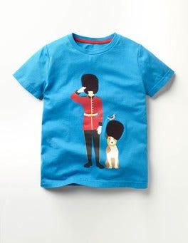 Swedish Blue Guard Great British T-shirt