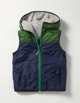 Howlin Blue Cosy Reversible Gilet