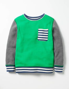 Astro Green Fun Sweatshirt