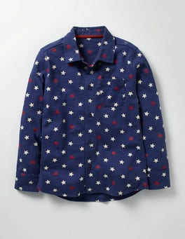 Beacon Blue Star Jersey Shirt