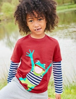 Layered Fun Animal T-shirt
