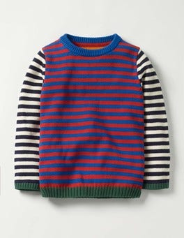 Beatnik Red Hotchpotch Hotchpotch Crew Jumper