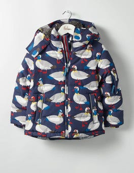 Swedish Blue Ducks Fun Padded Jacket
