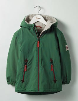 Timber Green Fox Sherpa-lined Anorak