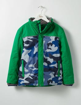 Crocodile Green/Camo All-weather Waterproof Jacket