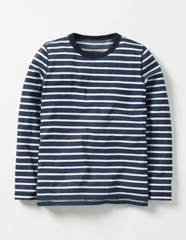 Navy/Ecru Supersoft T-shirt