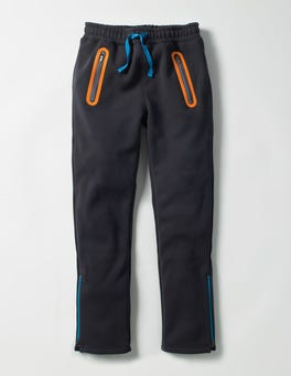 Panther Grey Active Track Pants
