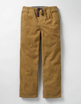 Classic Gold Cord Pull-on Pants