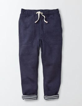 Navy Slouch Sweatpants