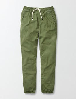 Action Green Lined Woven Joggers