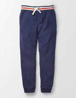 Navy Marl Everyday Joggers