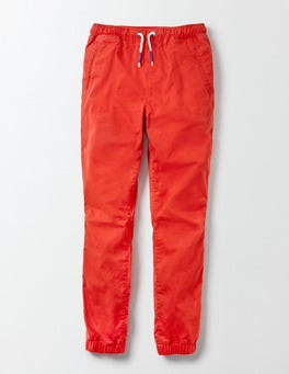 Salsa Red Woven Joggers