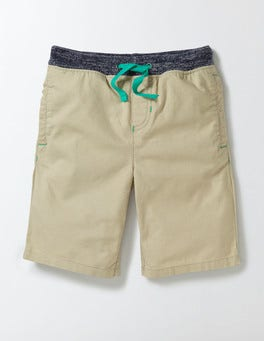 Stone Rib Waist Shorts