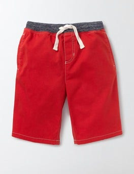 Salsa Red Rib Waist Shorts