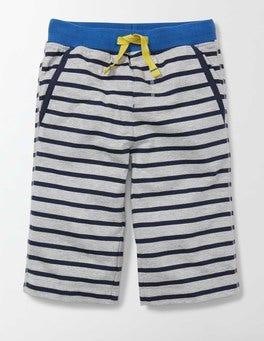 Grey Marl and Mini Navy Stripe Jersey Baggies