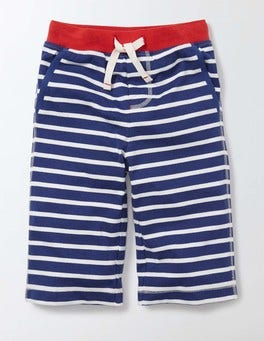Starboard and Ivory Stripe Jersey Baggies
