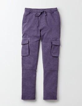 Slub Jersey Cargo Pants