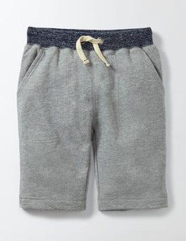 Grey Marl Jaspé Sweatshorts