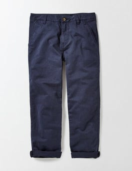 Navy Regular Fit Chinos