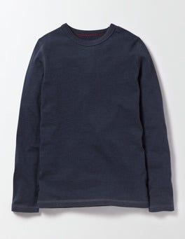 Navy Marl Supersoft T-shirt