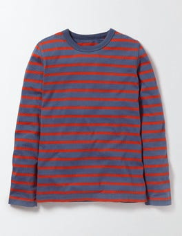 Violet Grey and Ziggy Stripe Supersoft T-shirt