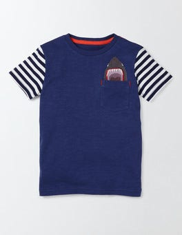 Beacon Embroidered Pocket T-shirt
