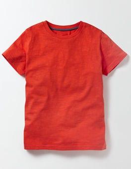 Ziggy Red Slub Washed T-shirt