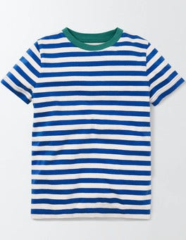 Duke and Ivory Stripe Slub Washed T-shirt