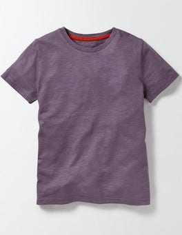 Paisley Purple Slub Washed T-shirt